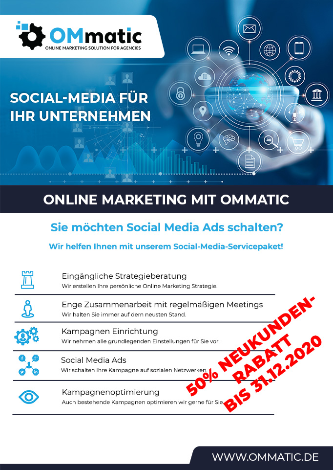 Social Media Marketing von OMmatic Kaiserslautern